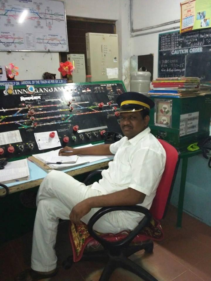 Indian Railways, Station Master, Railway Station, Chinnaganjam, Chinnaganjam, Andhra Pradesh, 523138, India